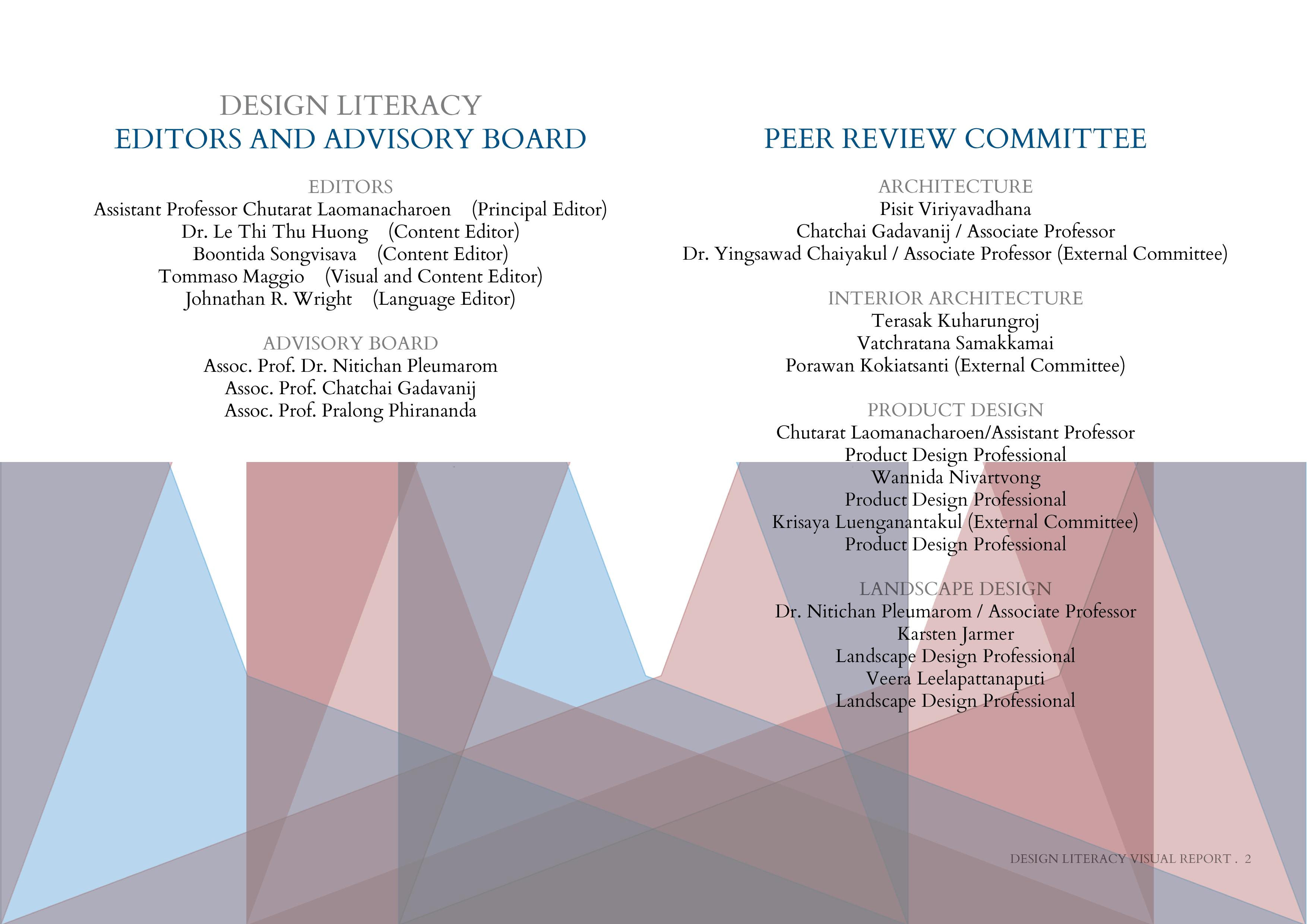 Design Literacy Forum II . Visual Report   Triangulum Network